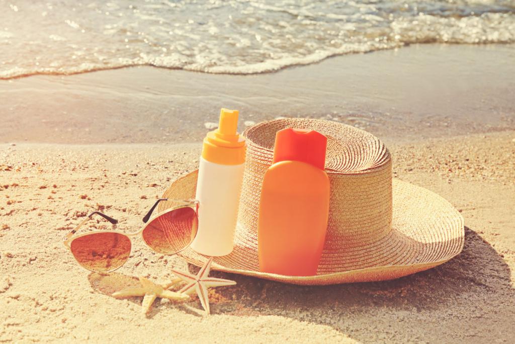 ochrona skóry przed słońcem