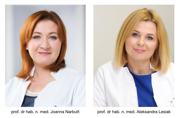 prof. Joanna Narbutt, prof. Aleksandra Lesiak