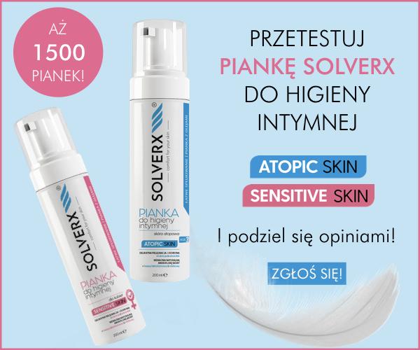 pianka do higieny intymnej Solverx